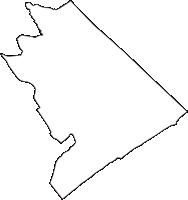 静岡県榛原郡吉田町(よしだちょう)の白地図無料ダウンロード