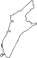 愛知県碧南市(へきなんし)の白地図無料ダウンロード