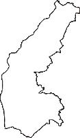 愛知県刈谷市(かりやし)の白地図無料ダウンロード
