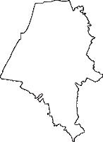 愛知県東海市(とうかいし)の白地図無料ダウンロード