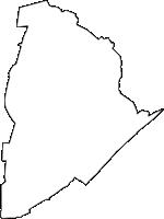 愛知県高浜市(たかはまし)の白地図無料ダウンロード