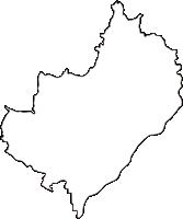 愛知県豊明市(とよあけし)の白地図無料ダウンロード