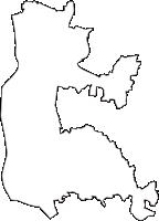 愛知県愛西市(あいさいし)の白地図無料ダウンロード