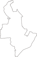 愛知県清須市(きよすし)の白地図無料ダウンロード
