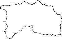 愛知県愛知郡長久手町(ながくてちょう)の白地図無料ダウンロード