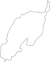 愛知県丹羽郡大口町(おおぐちちょう)の白地図無料ダウンロード