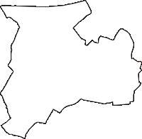 愛知県丹羽郡扶桑町(ふそうちょう)の白地図無料ダウンロード