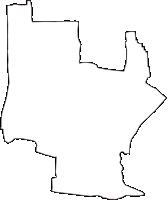 愛知県海部郡大治町(おおはるちょう)の白地図無料ダウンロード