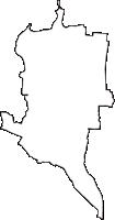 愛知県海部郡蟹江町(かにえちょう)の白地図無料ダウンロード