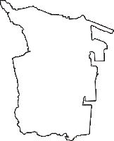 愛知県知多郡武豊町(たけとよちょう)の白地図無料ダウンロード