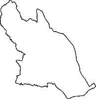 三重県桑名市(くわなし)の白地図無料ダウンロード