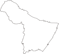 三重県鈴鹿市(すずかし)の白地図無料ダウンロード
