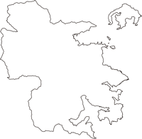 三重県尾鷲市(おわせし)の白地図無料ダウンロード