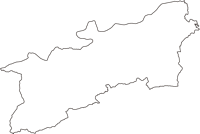 三重県多気郡多気町(たきちょう)の白地図無料ダウンロード