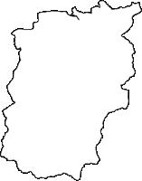 三重県度会郡度会町(わたらいちょう)の白地図無料ダウンロード