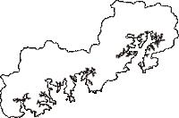 三重県度会郡南伊勢町(みなみいせちょう)の白地図無料ダウンロード
