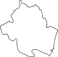 三重県南牟婁郡紀宝町(きほうちょう)の白地図無料ダウンロード