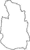 滋賀県長浜市(ながはまし)の白地図無料ダウンロード