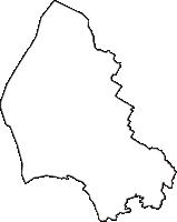 滋賀県草津市(くさつし)の白地図無料ダウンロード