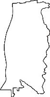 京都府京都市東山区(ひがしやまく)の白地図無料ダウンロード