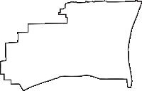 京都府京都市下京区(しもぎょうく)の白地図無料ダウンロード