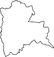 京都府京都市山科区(やましなく)の白地図無料ダウンロード
