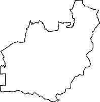 京都府宇治市(うじし)の白地図無料ダウンロード