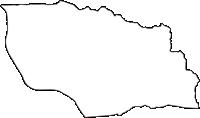 京都府城陽市(じょうようし)の白地図無料ダウンロード