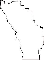 京都府向日市(むこうし)の白地図無料ダウンロード
