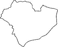 京都府乙訓郡大山崎町(おおやまざきちょう)の白地図無料ダウンロード