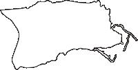 京都府綴喜郡井手町(いでちょう)の白地図無料ダウンロード