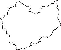 京都府綴喜郡宇治田原町(うじたわらちょう)の白地図無料ダウンロード