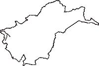 京都府相楽郡和束町(わづかちょう)の白地図無料ダウンロード