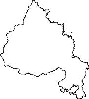 京都府与謝郡伊根町(いねちょう)の白地図無料ダウンロード