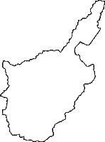 京都府与謝郡与謝野町(よさのちょう)の白地図無料ダウンロード