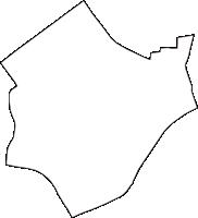 大阪府大阪市福島区(ふくしまく)の白地図無料ダウンロード