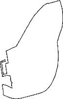 大阪府大阪市大正区(たいしょうく)の白地図無料ダウンロード