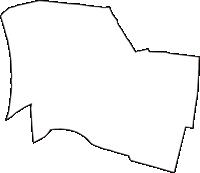 大阪府大阪市浪速区(なにわく)の白地図無料ダウンロード