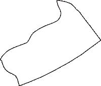 大阪府大阪市西淀川区(にしよどがわく)の白地図無料ダウンロード