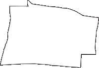 大阪府大阪市東成区(ひがしなりく)の白地図無料ダウンロード