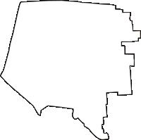 大阪府大阪市生野区(いくのく)の白地図無料ダウンロード
