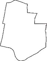 大阪府大阪市住吉区(すみよしく)の白地図無料ダウンロード