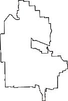 大阪府大阪市平野区(ひらのく)の白地図無料ダウンロード