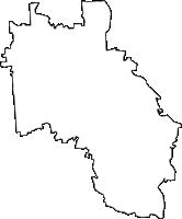 大阪府堺市美原区(みはらく)の白地図無料ダウンロード