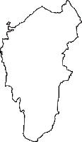 大阪府豊中市(とよなかし)の白地図無料ダウンロード