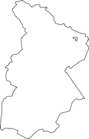 大阪府吹田市(すいたし)の白地図無料ダウンロード