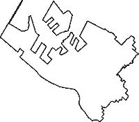 大阪府泉大津市(いずみおおつし)の白地図無料ダウンロード