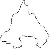 大阪府枚方市(ひらかたし)の白地図無料ダウンロード
