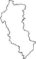 大阪府茨木市(いばらきし)の白地図無料ダウンロード