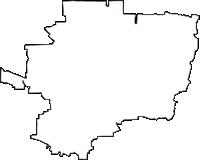 大阪府八尾市(やおし)の白地図無料ダウンロード